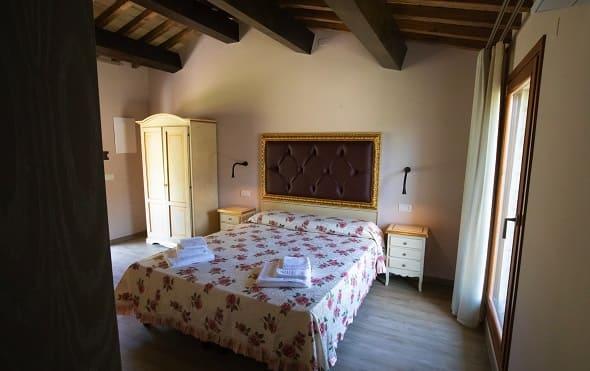 Alba camera del Borgo Rossi Agriturismo Brisighella