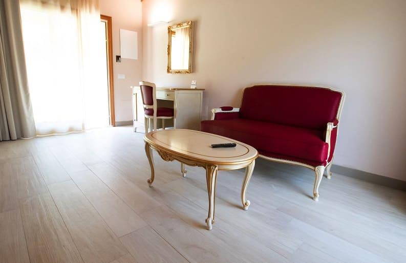 Bellavista la camera suite del BorgoRossi Agriturismo a Brisighella