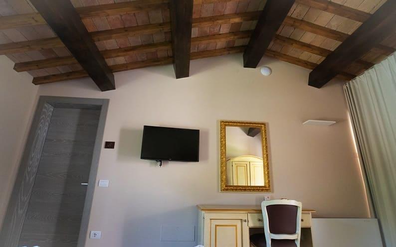 Tramonto la camera del BorgoRossi Agriturismo a Brisighella